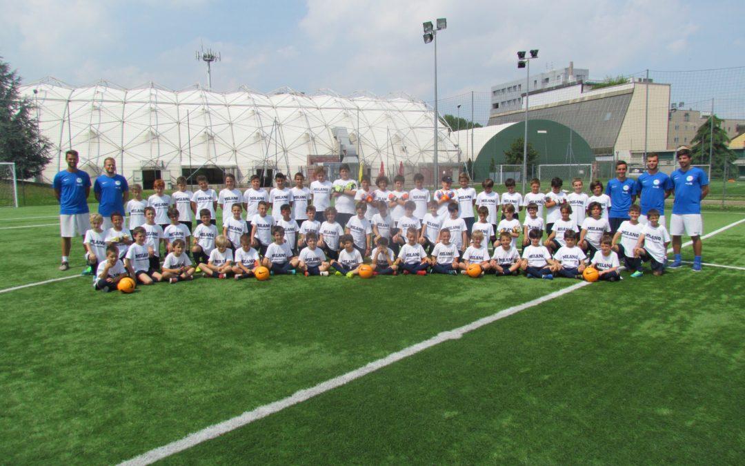 MILANO FOOTBALL CAMP, seconda settimana!