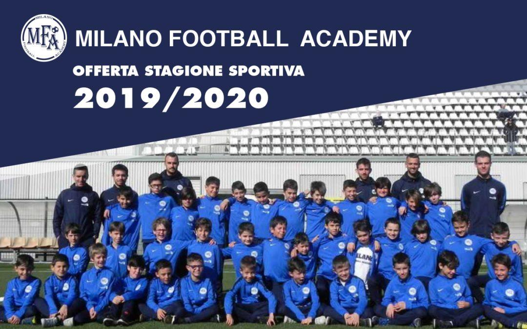 Aperte le iscrizioni alla stagione sportiva 2019/2020